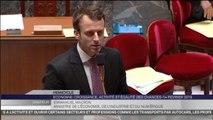 Emmanuel Macron tacle (encore) le frondeur Christian Paul