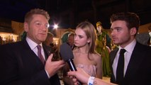 Director Kenneth Branagh, Lily James And Richard Madden In Berlin