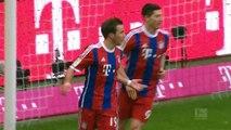 Bayern Monaco 8-0 Amburgo, Giornata 21