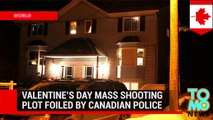 Canadian RCMP arrest three, foiling Valentine's Day mass shooting plot