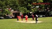 Cameron Cuffy vs Mark Audain, Brooklyn Cricket League 2014