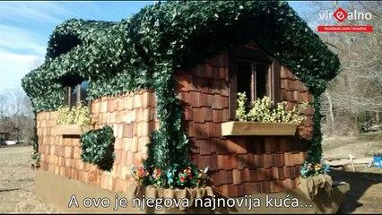 Mala kuća iz bajke će vas oduševiti kada vidite unutrašnjost (VIDEO)