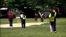 Cameron Cuffy in Brooklyn Cricket League