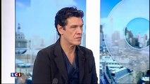 """Marc Lavoine sur LCI : """"Je n'ai pas écrit ce roman pour détrôner Eric Zemmour"""""""