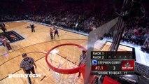 Les 27 points de Stephen Curry au concours 3 pts du All Star Game 2015