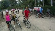Mtb, 40 km, 34 bikers, Trilha da Cachoeira do Triângulo, Pinheirinho, Pedal com os Amigos, Taubike, Taubaté, SP, Brasil, 14 de fevereiro de 2015, (64)