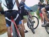 Mtb, 40 km, 34 bikers, Trilha da Cachoeira do Triângulo, Pinheirinho, Pedal com os Amigos, Taubike, Taubaté, SP, Brasil, 14 de fevereiro de 2015, (68)