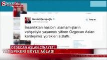 TRT Haber spikeri böyle ağladı