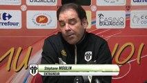 Gazélec Ajaccio 1-0 Angers SCO : les réactions de T. Laurey & S. Moulin