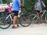 Mtb, 40 km, 34 bikers, Trilha da Cachoeira do Triângulo, Pinheirinho, Pedal com os Amigos, Taubike, Taubaté, SP, Brasil, 14 de fevereiro de 2015, (72)