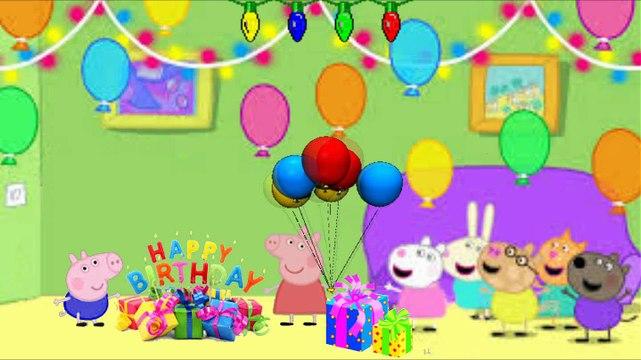 Pepa prase-rođendanska pesma-Džordžov rođendan