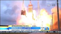 NASA ORION rocket launch Video HD new Orion spacecraft | NASA Orion Successful Test Rocket Launch