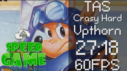 Speed Game [60FPS]: TAS Rocket Knight Aventures