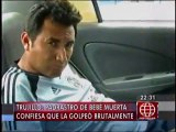 Trujillo: Mató a golpes a bebé de 1 año y echó la culpa al diablo