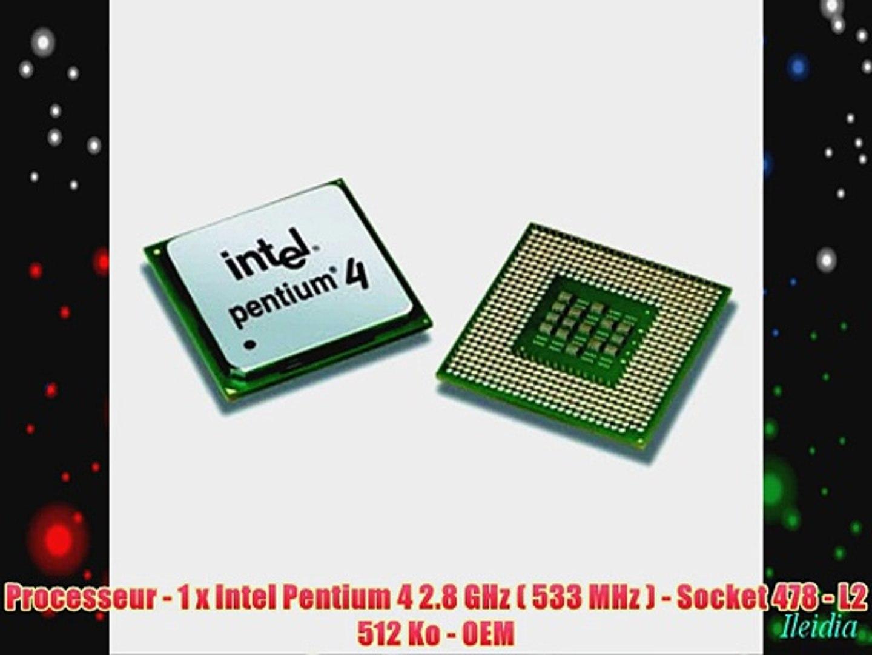 512KB 533 Socket 478 Desktop processor Intel Pentium 4 2.66 GHz SL6PE