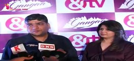 & TV New Show Launch Ganga - Hiten Tejwani  - Sushmita Mukherjee - Ruhana Khanna - Part 4