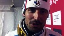 """Après son titre mondial en slalom, Jean-Baptiste Grange salue Valloire et ses supporteurs: """"Merci pour votre soutien"""""""