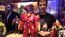 Avengers: Age of Ultron interactive figures with Hulkbuster at Toy Fair 2015 from Hasbro