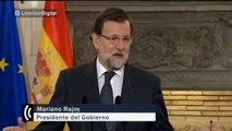"""Rajoy alerta sobre Syriza y Podemos: """"Prometer lo imposible genera frustración"""""""