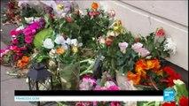 Attaques terroristes de Copenhague : des fleurs déposées en hommage au tueur
