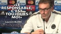 Laurent Blanc: «Le responsable, c'est toujours moi»