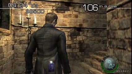 [TAS] GC Resident Evil 4 The Mercenaries Castle