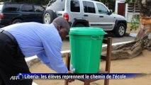 Ebola: rentrée des classes au Liberia