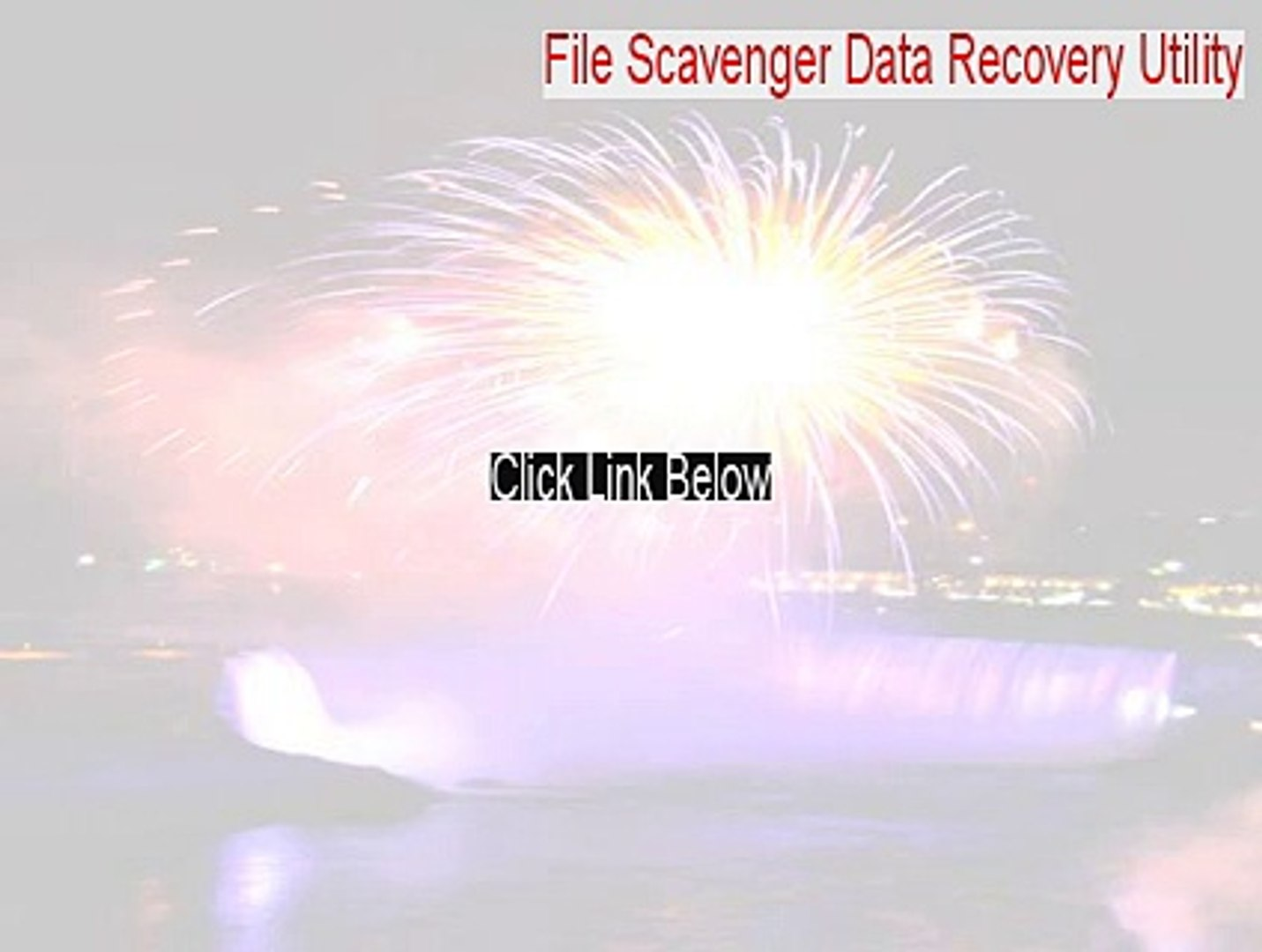 download file scavenger 4.1 license key
