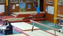 Gymnastique saison 2015  poutre et sol kamie(2003) Alsace