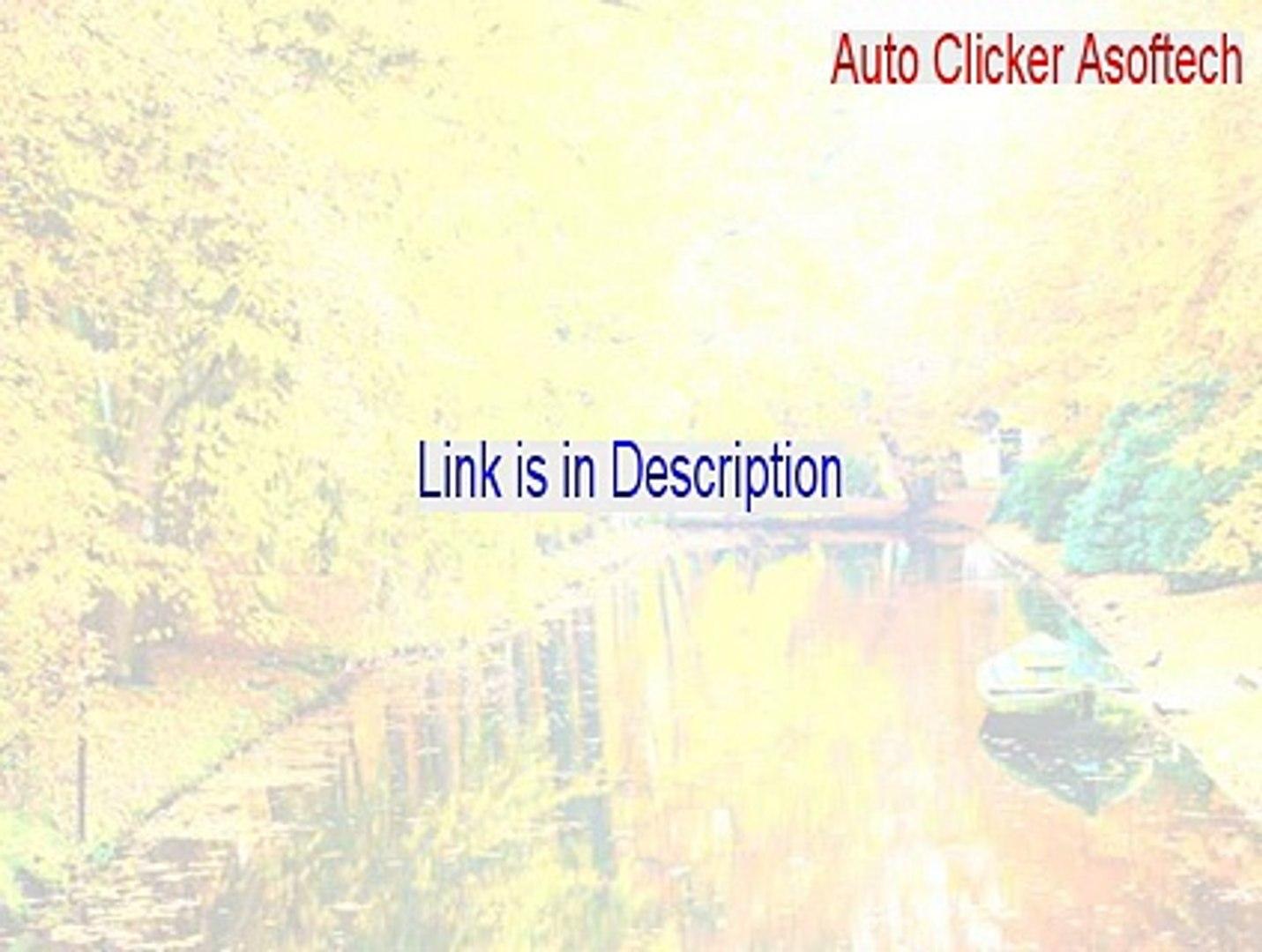 Auto Clicker Asoftech Serial - Legit Download 2015