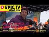 Ski Test: Line Sick Day 2014 Skis