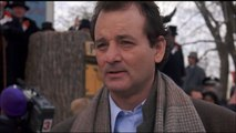 Bill Murray Winter Weather Prediction - Groundhog Day