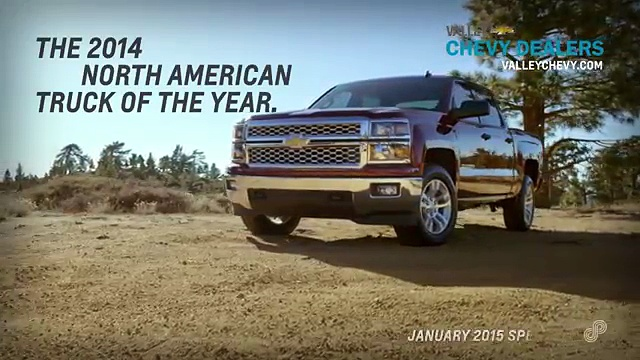 Valley Chevy Dealers – 2014 Chevy Silverado Offer