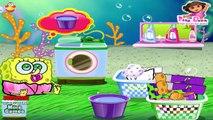 Bob l'éponge jeu - jeu de lavage de vêtements à laver Bob l'éponge - Jeux gratuits en ligne