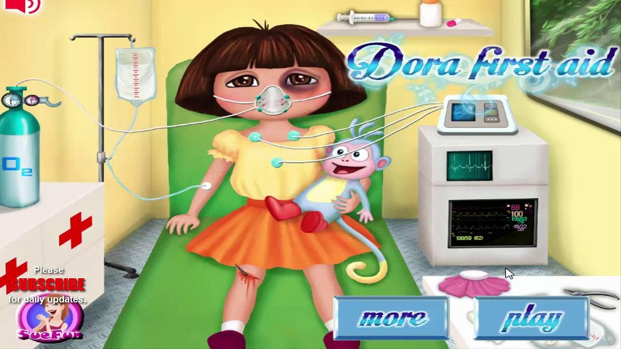 Jeu De Dora L Exploratrice Dora Jeu Ambulance Médecin Explorateur Gratuit Jeux En Ligne