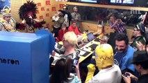 "Mardi Gras : ""Fun Radio"" fête le carnaval dans les studios de ""RTL"""