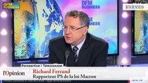 "TextO' : Henri Guaino : La loi Macron, ""c'est un monstre."""