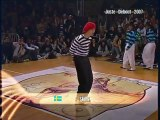 Hip hop dance Competition - Yuu & Rei VS. Skillz & A-Train [LOCKING]