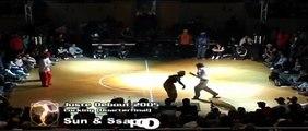 Locking dance battle   Manu & Loïc vs. Sun & Ssapool