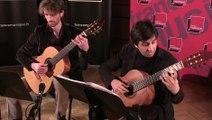 J. S. Bach, Variations Goldberg (Aria et Variation n°1) par le duo Mélisande | Le Live de la matinale