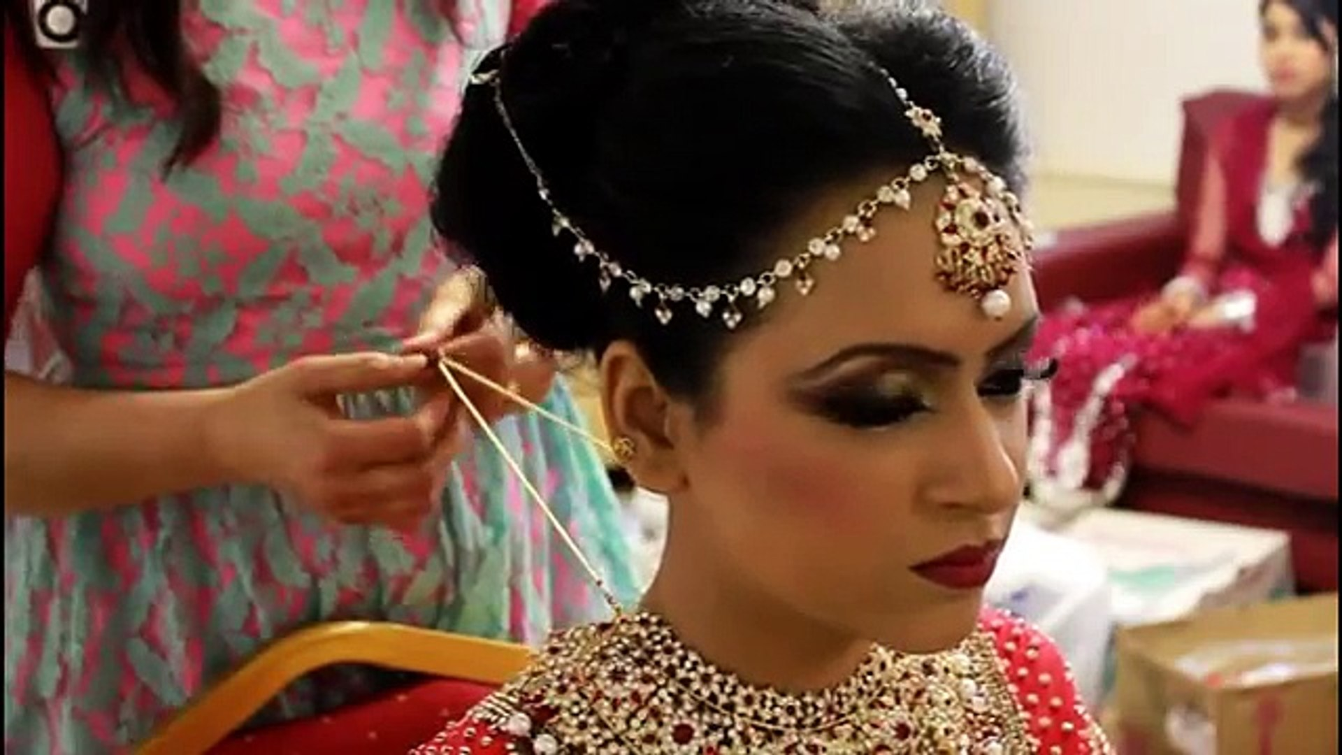 real bridal makeup and hair style - video dailymotion