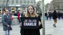BETC pour Presse et Pluralisme, Reporters sans frontières - défense de la liberté de la presse, «Charlie vivra» - janvier 2015