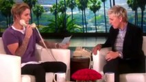 (VIDEO) Justin Bieber PRANK Calls A Fan On The Ellen Degeneres Show