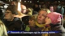 Tens of thousands in Copenhagen vigil for shooting victims
