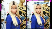 Oops: Nicki Minaj suffers nip slip