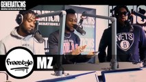 MZ - Black Ink Freestyle (Live des studios de Generations)