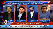 Classic Chitrol Of Rehan Hashmi(MQM) By Imran Ismail(PTI) On Calling Imran Khan 'Aeyash Aadmi
