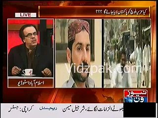 Dr.Shahid Masood hints connection of PPP's Khalid Shehenshah killing with Ch.Aslam assassination