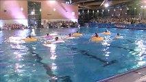 Natation synchronisée : démonstration de l'équipe de France