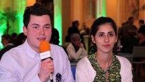 Parcours de 2 jeunes entrepreneurs, forum de l'entrepreneuriat 2014